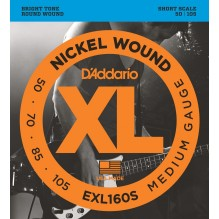 Cordes Basse D'Addario EXL160S
