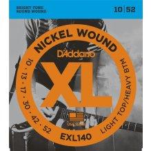 Cordes Guitare D'Addario EXL140