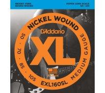 Cordes Basse D'Addario EXL160-SL