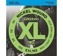 Cordes Basse D'Addario EXL165