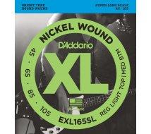 Cordes Basse D'Addario EXL165-SL