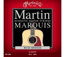 Cordes Guitare Martin M1100
