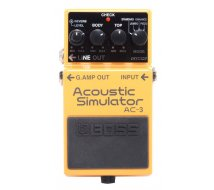 Effet Guitare Boss Acoustic Simulator AC3