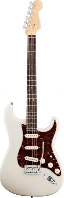 Guitares électriques Fender : American Deluxe Stratocaster RW Olympic Pearl / Guitares et Basses