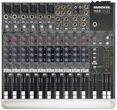 Mixages Mackie : Table de Mixage 1402 VLZ 3 / Sonorisation