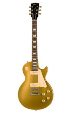Guitare électrique Gibson : Guitare Electrique Les Paul Studio 60's Tribute Worn Goldtop / Guitare et Basse
