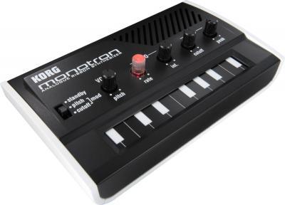 Synthé Korg : Mini Synthétiseur à Ruban MONOTRON / Clavier